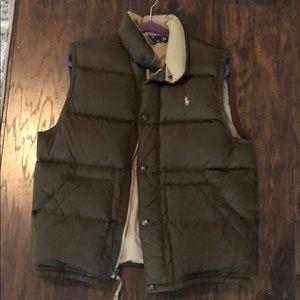Ralph Lauren Polo puff vest